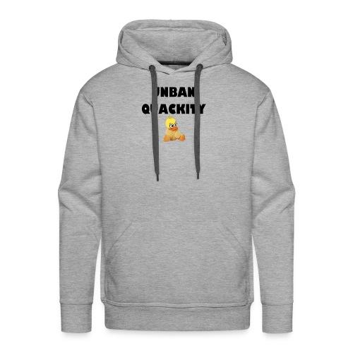 UNBAN QUACKITY - Men's Premium Hoodie