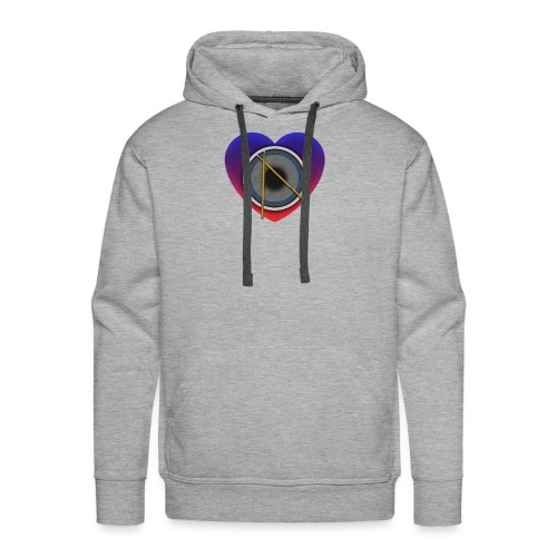 Heart Of Drums Logo - Men's Premium Hoodie