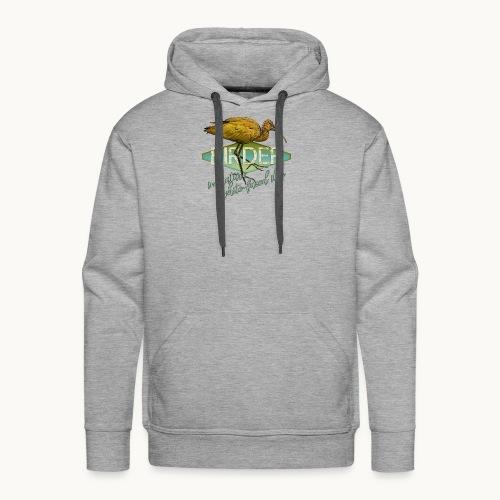 BIRDER - White-faced ibis - Carolyn Sandstrom - Men's Premium Hoodie