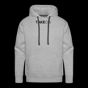 Takeon Logo Simple - Men's Premium Hoodie