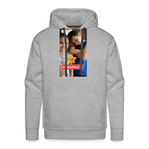 SoMuchFun tv be a star - Men's Premium Hoodie