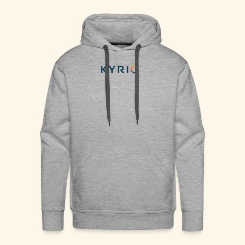 Kyrio cmyk main - Men's Premium Hoodie