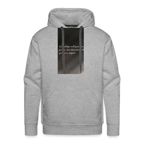 Knowledge - Men's Premium Hoodie