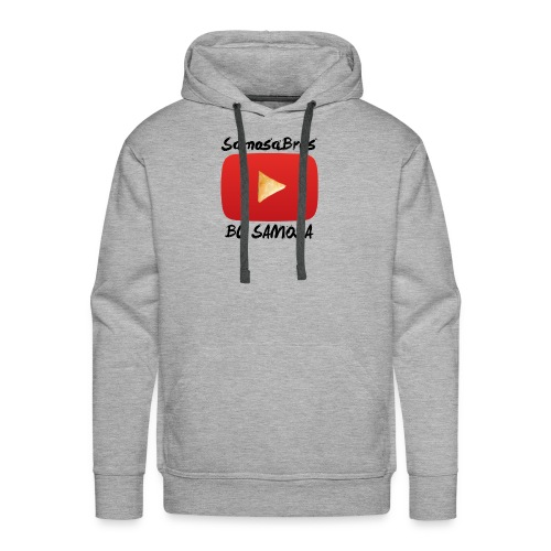 BC SAMOSA LOGO - Men's Premium Hoodie
