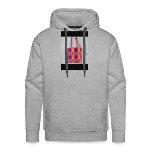 ANKARA TOTE BAG DESIGN - Men's Premium Hoodie