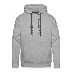 TreeTshirtArtwork black - Men's Premium Hoodie