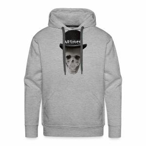 Artifice Skull Head - Men's Premium Hoodie