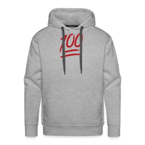 100 MEN BOR!! - Men's Premium Hoodie