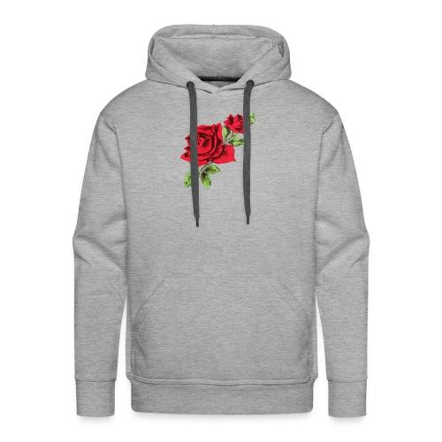 Rose and Bud - Men's Premium Hoodie