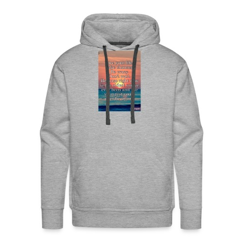Live Life to the Fullest motto - Men's Premium Hoodie