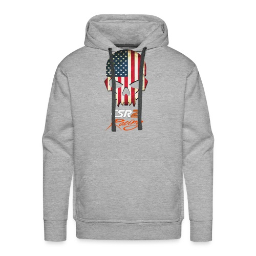 American Flag Skull CSR2 Racing - Men's Premium Hoodie