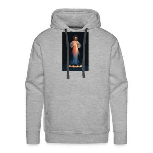 Divine Mercy - Men's Premium Hoodie