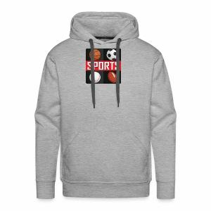Sport T-shirt - Men's Premium Hoodie