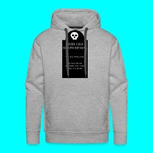Death Denial is Dead - Men's Premium Hoodie
