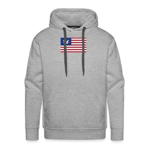 american-weed - Men's Premium Hoodie