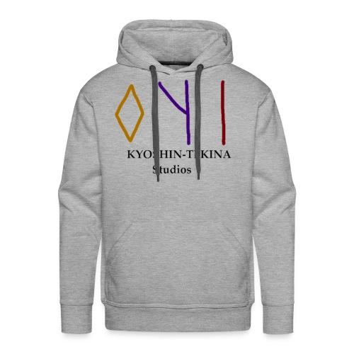Kyoshin-Tekina Studios logo (black test) - Men's Premium Hoodie