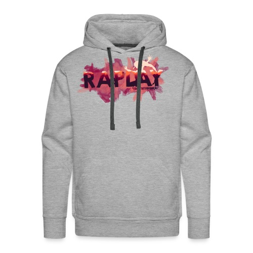 Raplay Paint #VemPraRaplay - Men's Premium Hoodie