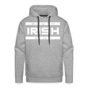Southside Irish White - Two Bar - Men's Premium Hoodie