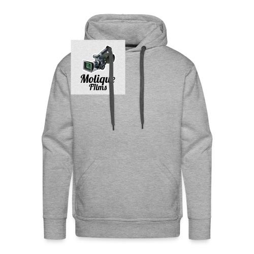 Molique Films Logo - Men's Premium Hoodie