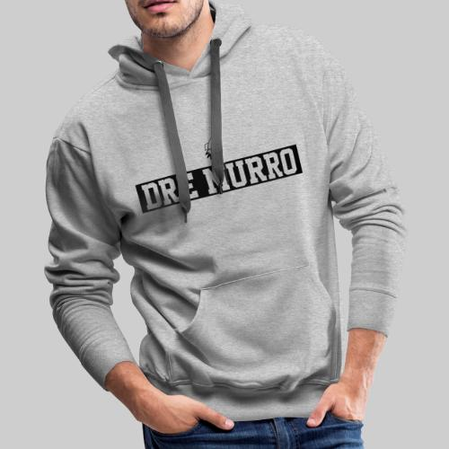 Dre Murro (Official Logo - Black) - Men's Premium Hoodie