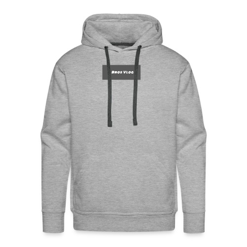 Black Backround - Men's Premium Hoodie