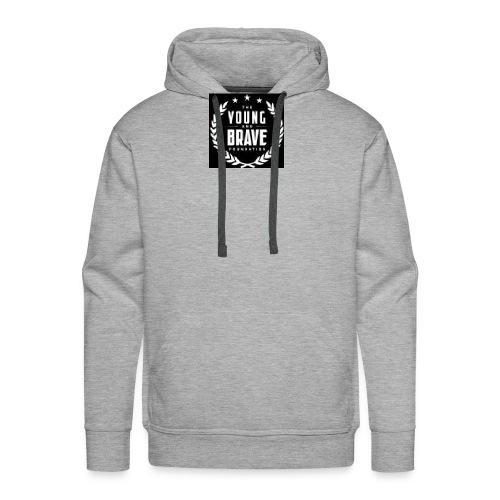 YOUNG AND BRAVE - Men's Premium Hoodie