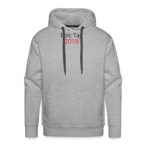 Epic Tag Word Logo - Men's Premium Hoodie