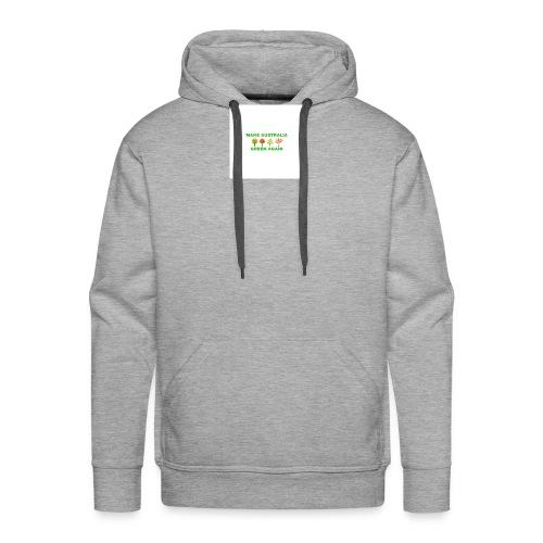 MAKE AUSTRALIA GREEN AGAIN TREES - Men's Premium Hoodie