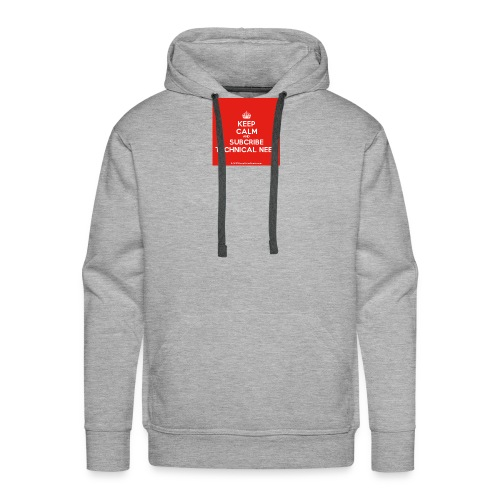 KeepCalm red and white edition - Men's Premium Hoodie