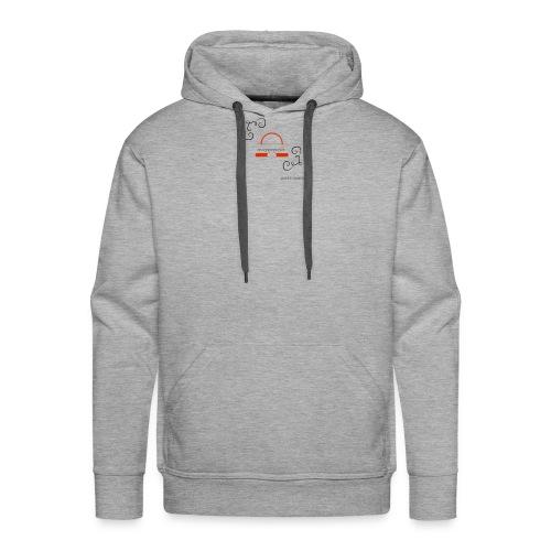 Crazyjoegrover logo - Men's Premium Hoodie