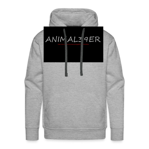 Animal39er with link - Men's Premium Hoodie
