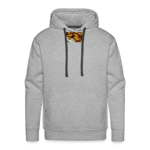 cajun style sweet potatoes top - Men's Premium Hoodie