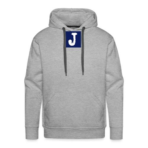 j logo big - Men's Premium Hoodie
