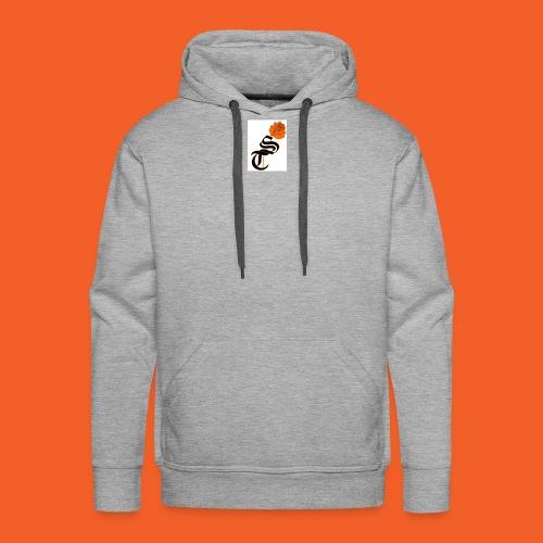 ST rose design - Men's Premium Hoodie