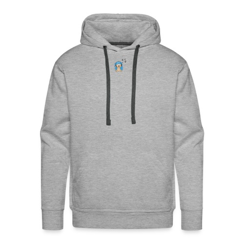 music animal cute - Men's Premium Hoodie