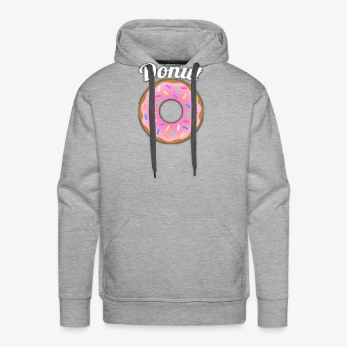 Donut - Men's Premium Hoodie