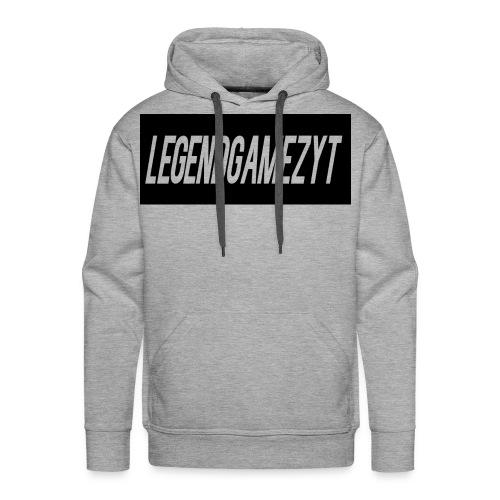 LegendGamezYT Text Logo - Men's Premium Hoodie
