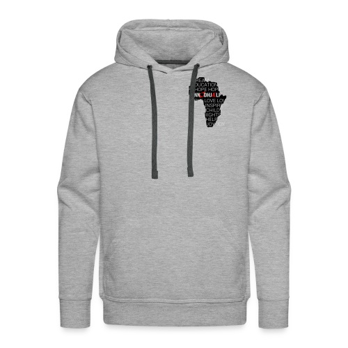 DINNoedhjaelp Africa logo - Men's Premium Hoodie