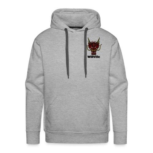 Red Dragon/WillVille - Men's Premium Hoodie