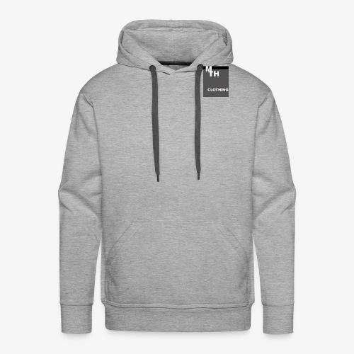 mth clothing co best in black - Men's Premium Hoodie