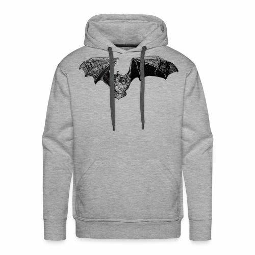 Tri-Colored Bat - Men's Premium Hoodie