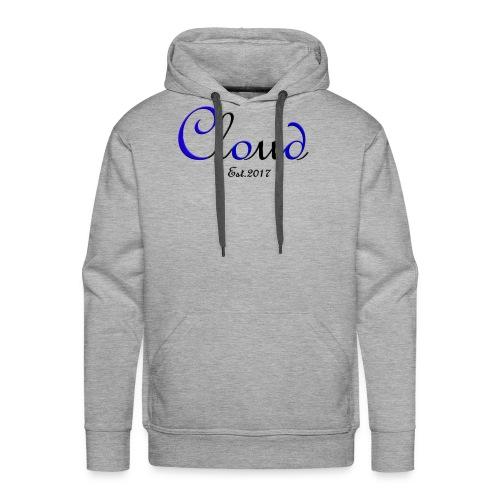 Cloudy design - Men's Premium Hoodie