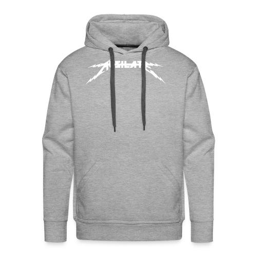 Ausilate Lightning Collection *White* - Men's Premium Hoodie