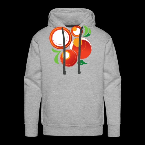 Abstract Oranges - Men's Premium Hoodie