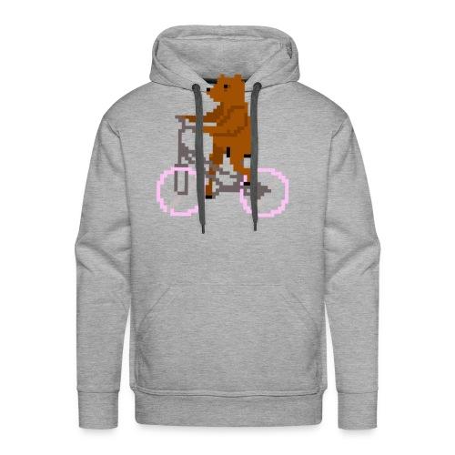Bear Bike - Men's Premium Hoodie