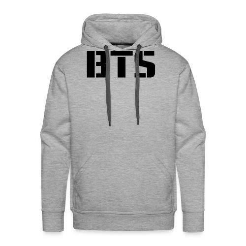BTS Wordmark svg - Men's Premium Hoodie