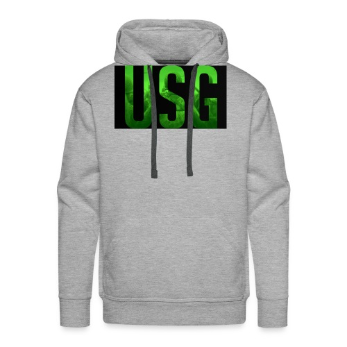 Call of duty World war 2 USG logo - Men's Premium Hoodie