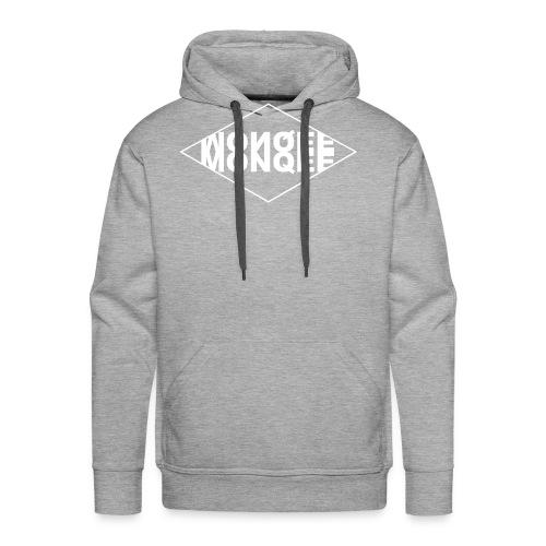 WHITE - Men's Premium Hoodie