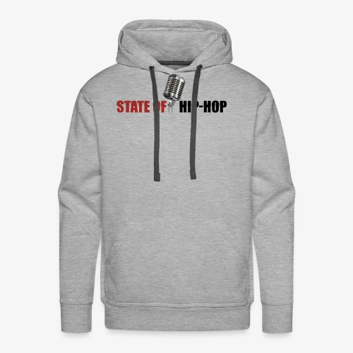 State of Hip-Hop - Men's Premium Hoodie