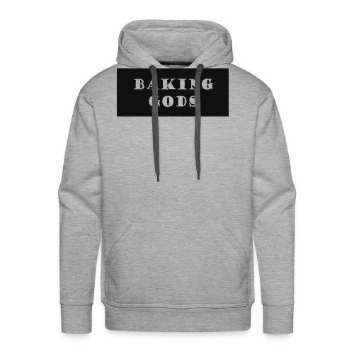 baking gods - Men's Premium Hoodie